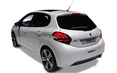 peugeot 208 5 t rer 1 2 allure puretech 110 eat6 s leasing. Black Bedroom Furniture Sets. Home Design Ideas