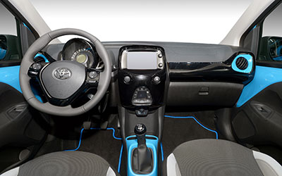 toyota aygo 1 0 l vvt i x play touch leasing. Black Bedroom Furniture Sets. Home Design Ideas